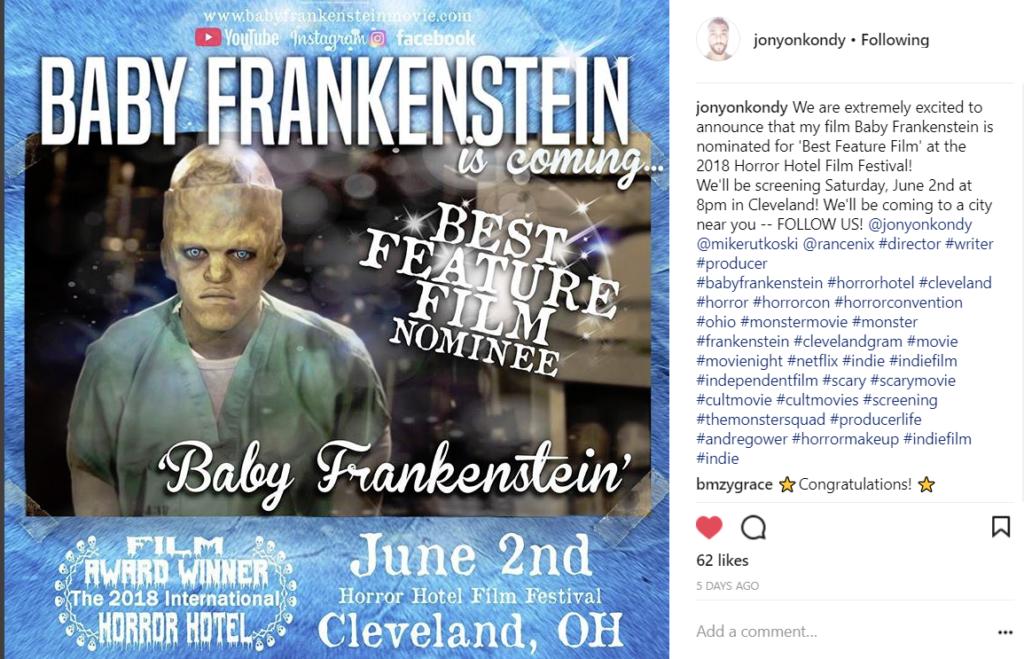 Baby Frankenstein Wins